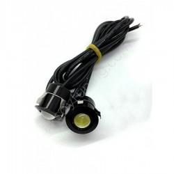 Geçme Kartal Gözü Gündüz Farı Eagle Eye LED Beyaz 20MM ( 2 Adet )