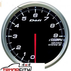 DEFI 9000 RPM TAKOMETRE GOSTERGESI ANALOG