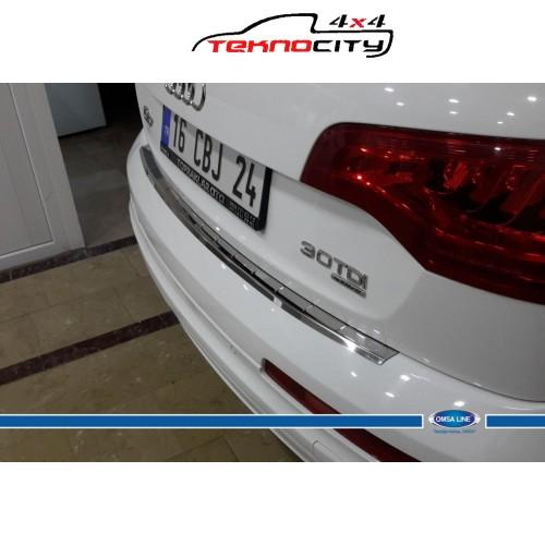 Audi Q7 Arka Tampon Eşiği P.Çelik (Taşlı) 2010-2015
