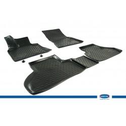BMW X5 3D Novline Havuz Paspas Siyah 4 Prç 2007-2013