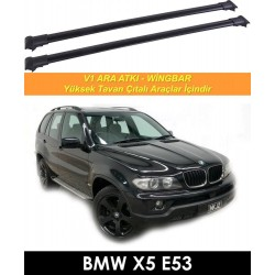 Bmw X5 E53 Port Bagaj Ara Atkı Siyah