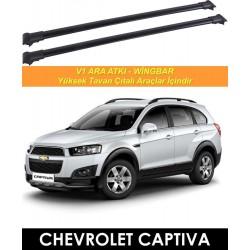 Chevrolet Captiva Port Bagaj Ara Atkı Siyah
