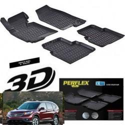 Honda CRV 2012 + 3D TPE Kauçuk 3D Paspas Perflex