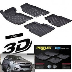 HUNDAİ İX 35 3D TPE Kauçuk 3D Paspas Perflex