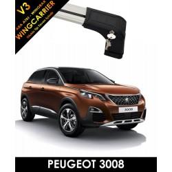 Peugeot 3008 Port Bagaj Ara Atkı Wingcarrier V3