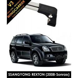 Ssangyong Rexton Port Bagaj Ara Atkı Wingcarrier V3