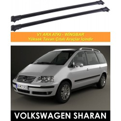 Volkswagen Sharan Port Bagaj Ara Atkı Siyah