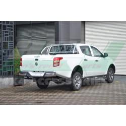 MITSUBISHI L200 2015- (FIAT FULLBACK) ROLLBAR ARKA CAM KORUMALI KROM