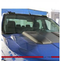 Ford Ranger Ön Cam Üstü (Ledli) MoonVisor 2015-