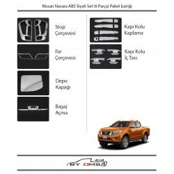 Nissan Navara ABS Krom Set (6 Parça)