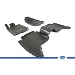 Hyundai Santa Fe 2006-2010 3D Novline Havuz Paspas Siyah 4 Prç