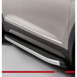Audi Q3 Blackline Yan Basamak Alüminyum 2013 ve Sonrası